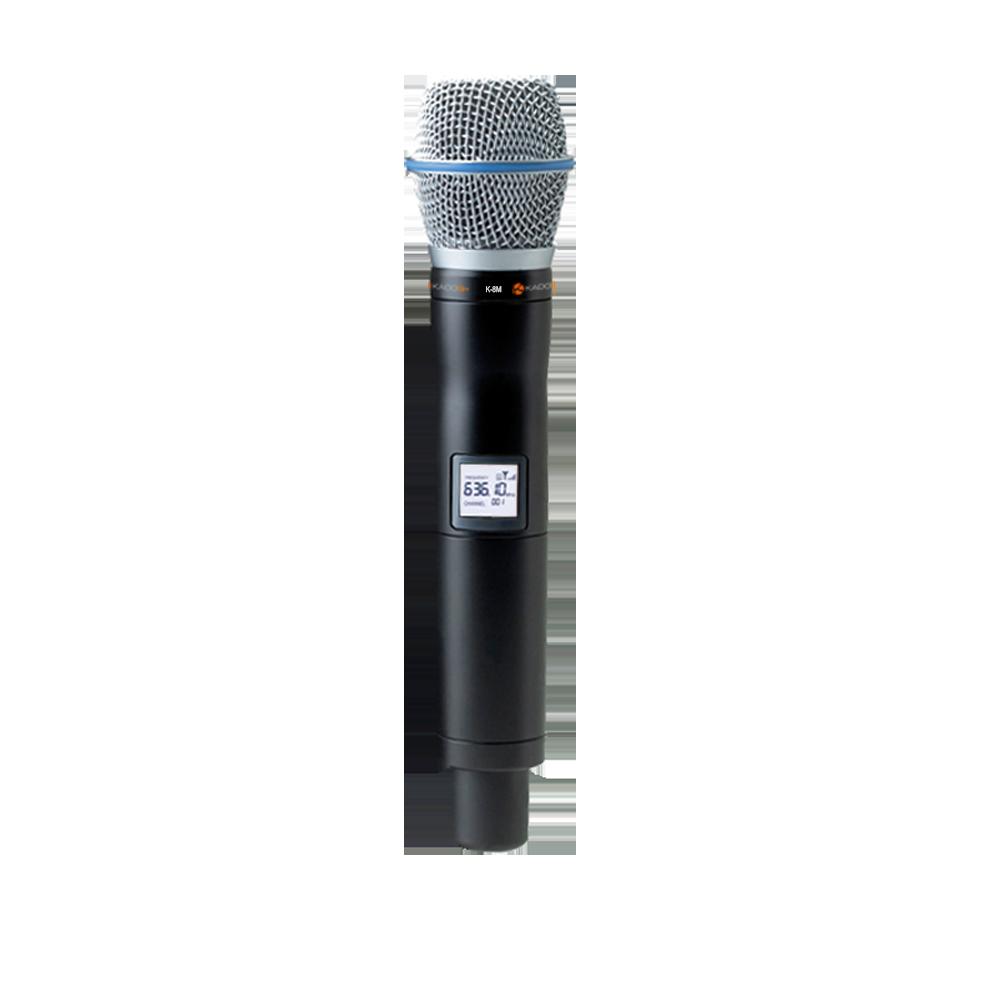 Microfone Sem Fio Duplo Kadosh K882m Digital UHF