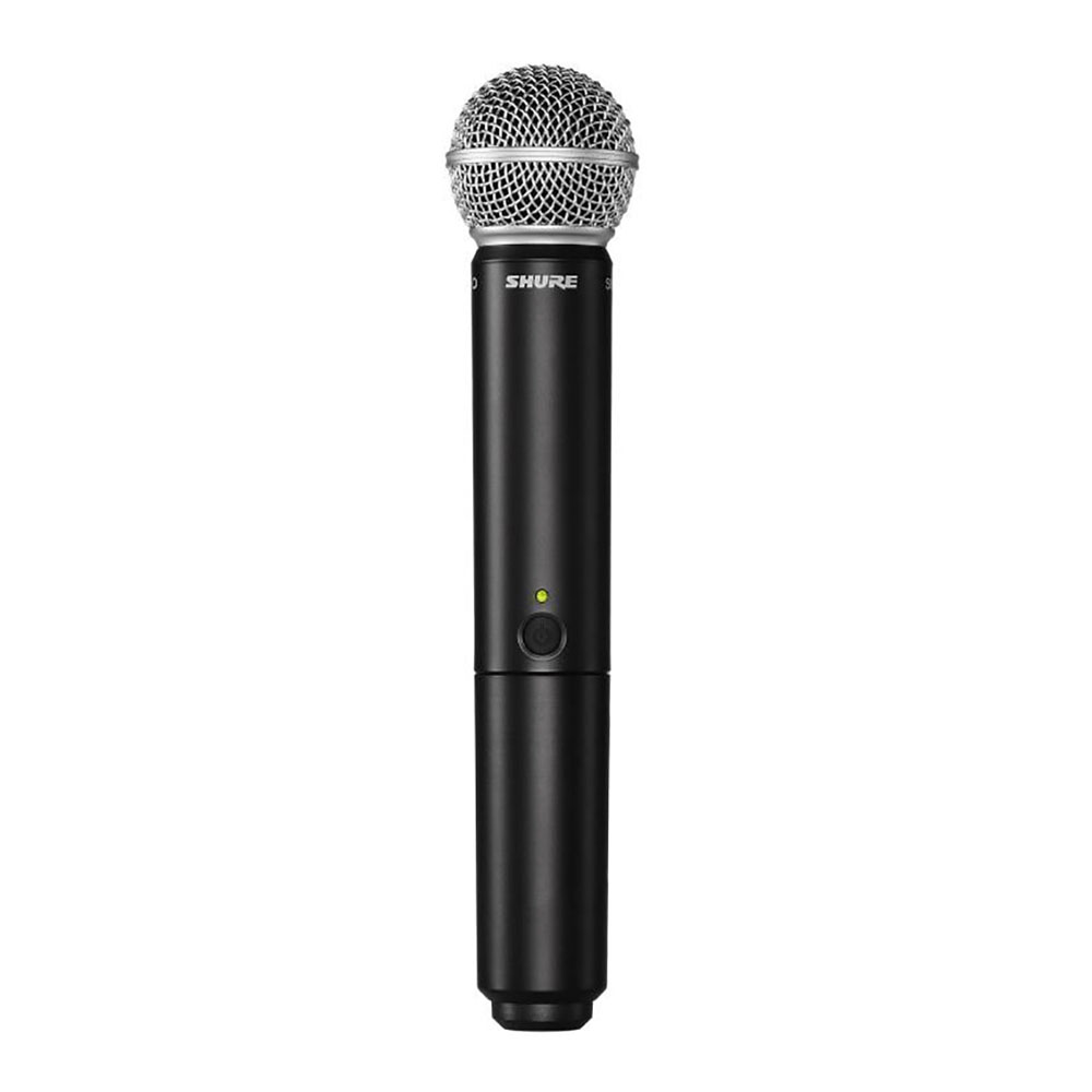 Microfone Sem Fio Shure BLX24 BR SM58 De Mão
