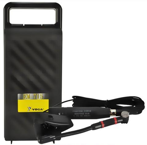 Microfone Yoga EM-715 Para Saxofone e Instrumentos de Sopro - CSR
