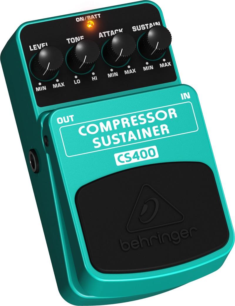 Pedal Behringer Cs400 Compressor Sustainer  2 Anos Garantia