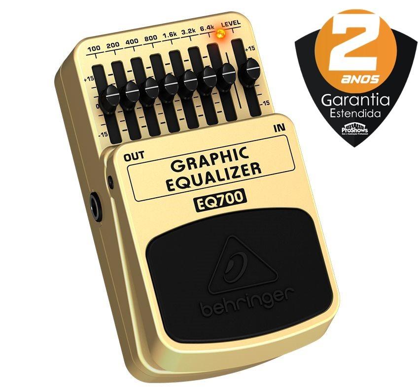 Pedal Guitarra Behringer Eq700 Graphic Equalizer