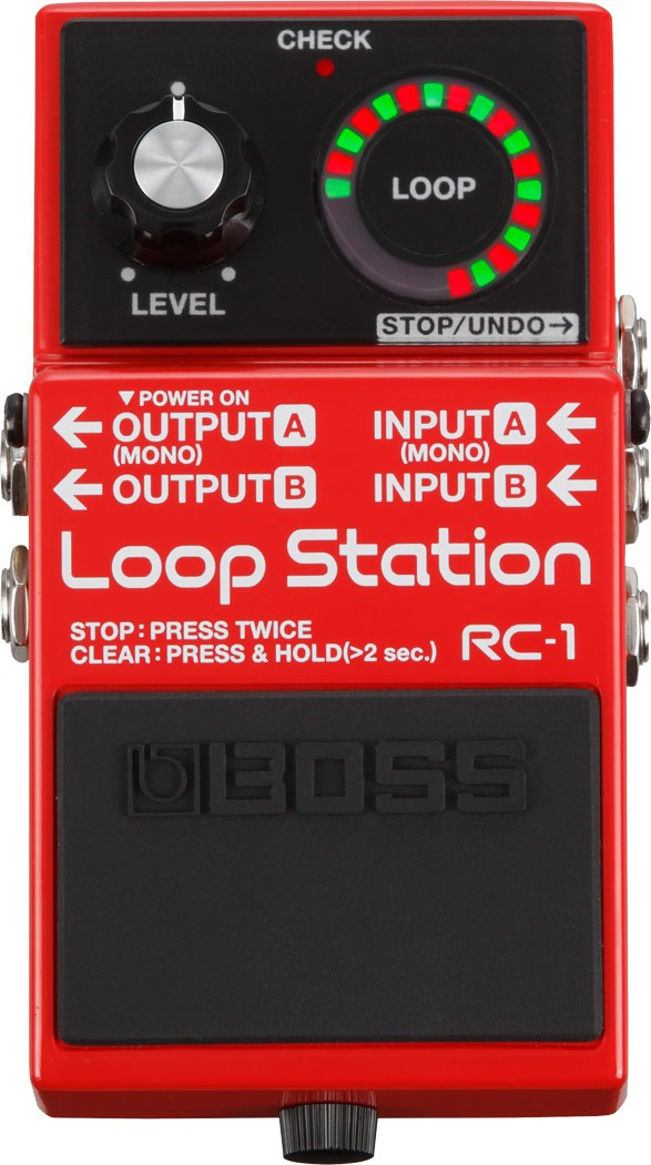 Pedal Boss RC1 Loop Station - Outlet Premium