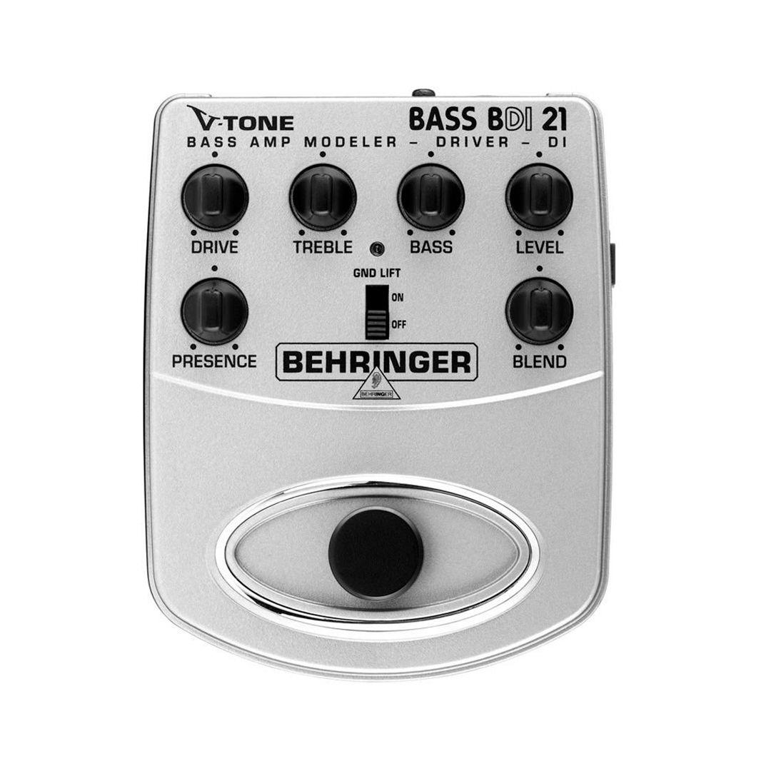 Pedal Contra Baixo Behringer V-TONE Bass Driver BDI21 2 Anos Garantia