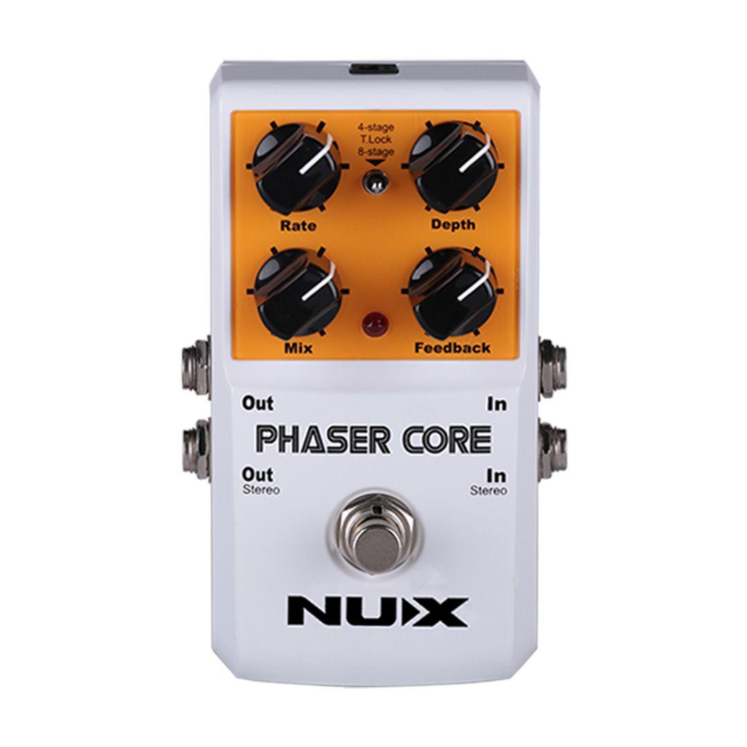 Pedal de Guitarra Nux Phaser Core