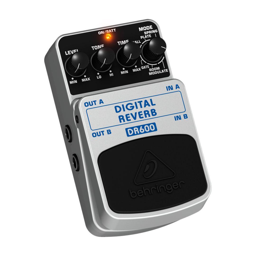 Pedal Guitara Behringer Dr600 Digital Reverb 2 Anos Garantia