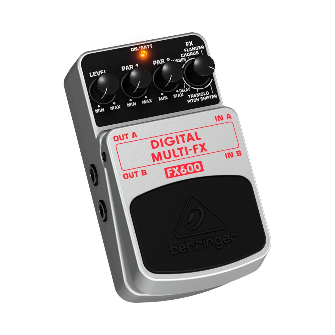 Pedal Guitarra Behringer FX600 Digital MULTI-FX 2 Anos Garantia