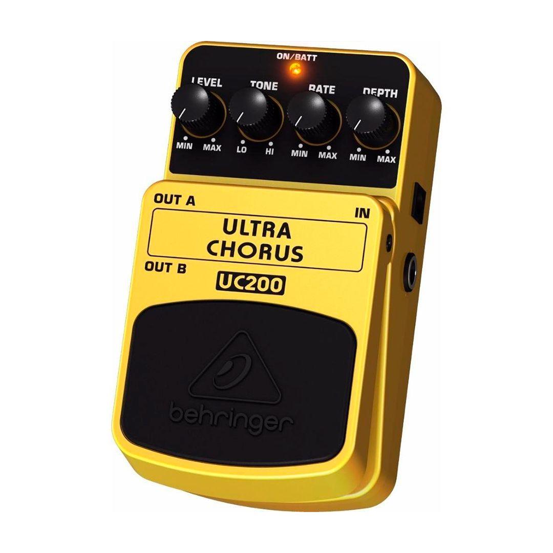 Pedal Guitarra Behringer Ultra Chorus  UC200 2 Anos Garantia