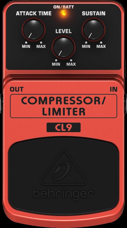 Pedal para guitarra - CL9 - Behringer