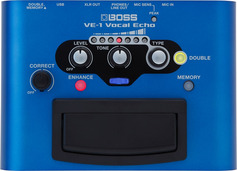 Pedal Processador De Voz Roland Boss Ve1 Vocal Echo