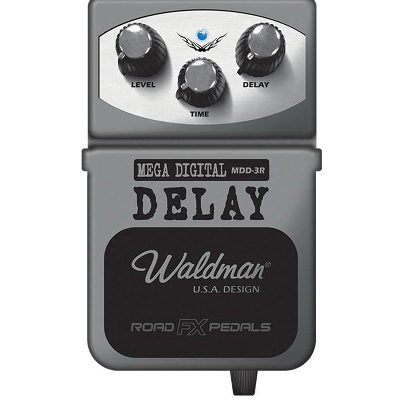 Pedal Waldman Mdd3r Mega Digital Delay P/ Guitarra Baixo