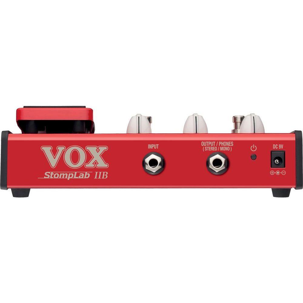 Pedaleira De Efeitos Vox Stomplab 2b P/ Contra Baixo
