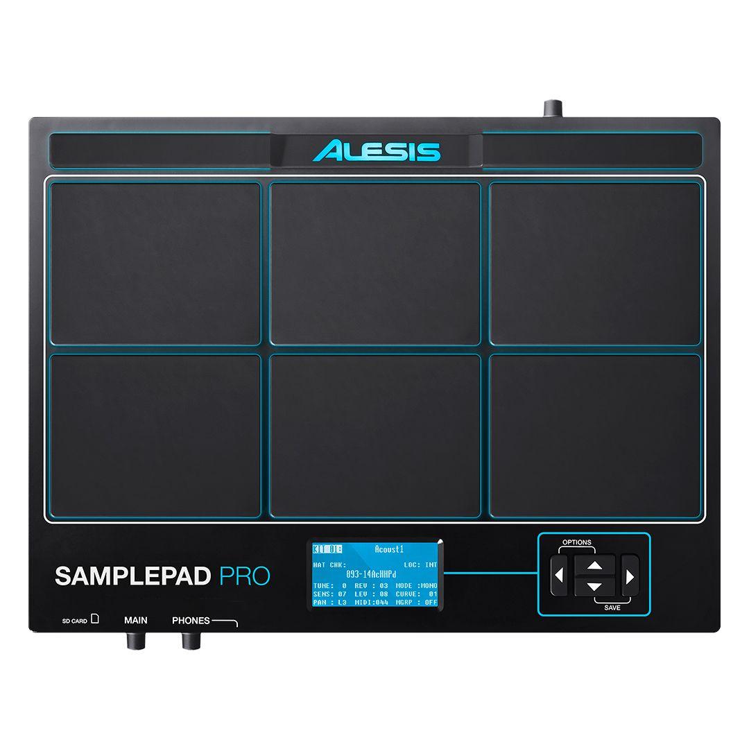 Percussão Eletrônica Alesis Samplepad Pro 8 USB
