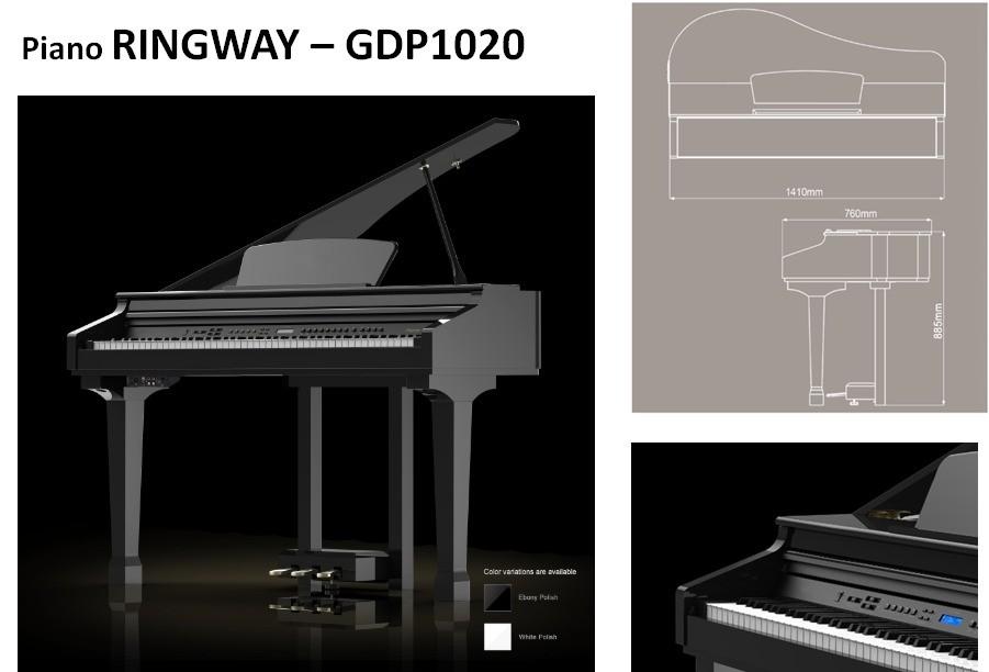 Piano De Cauda Fenix Digital GDP1020
