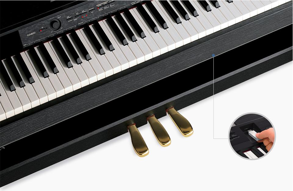 Piano Digital Casio Privia Px760 88 Teclas Completo Com Estante