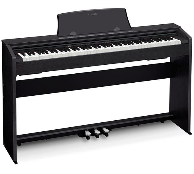Piano Digital Casio Privia Px770 88 Teclas Completo Com Estante + Banqueta