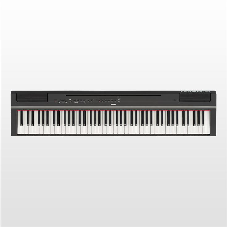 Piano Digital Yamaha P-125 BK 88 teclas + Fonte e Pedal