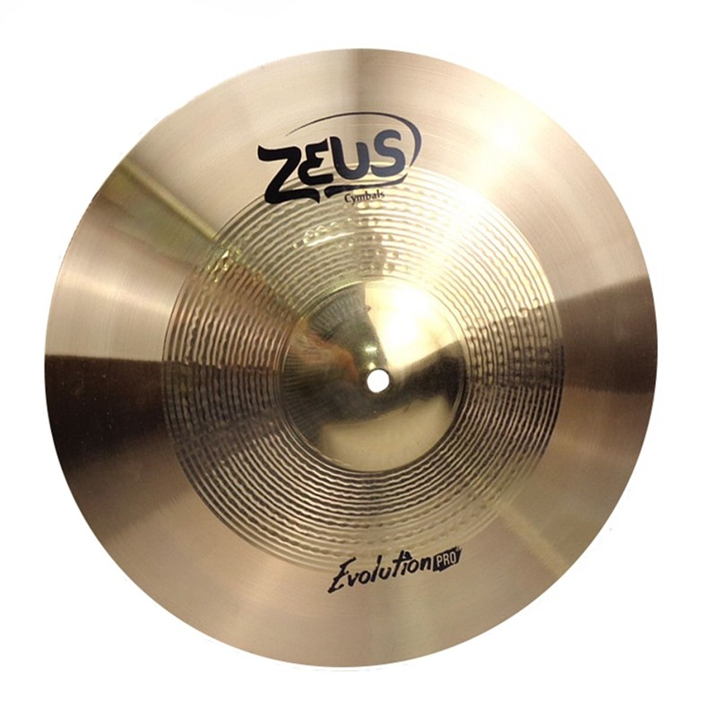 Prato Bateria Zeus Evolution Pro ZEPS12 Splash 12 Bronze Liga B10