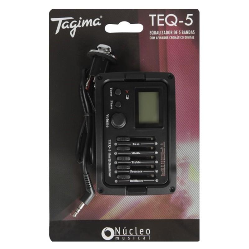 Pré Equalizador Tagima TEQ5 Afinador P/ Violão