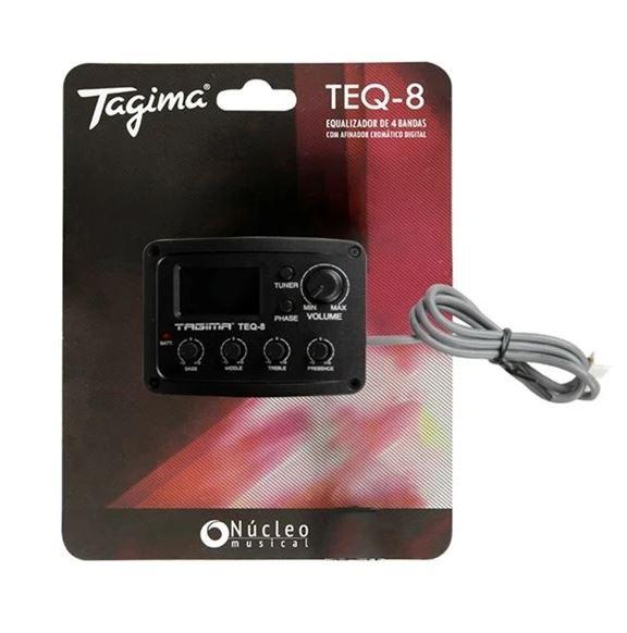 Pré Equalizador Tagima TEQ8 Afinador P/ Violão