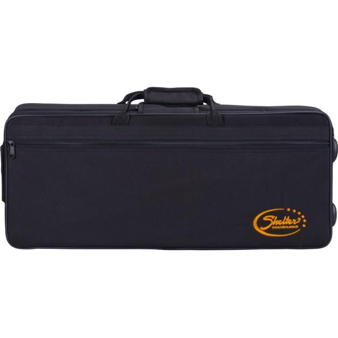 Sax Alto Shelter Sgft6430l Laqueado Dourado Em Eb C/ Case