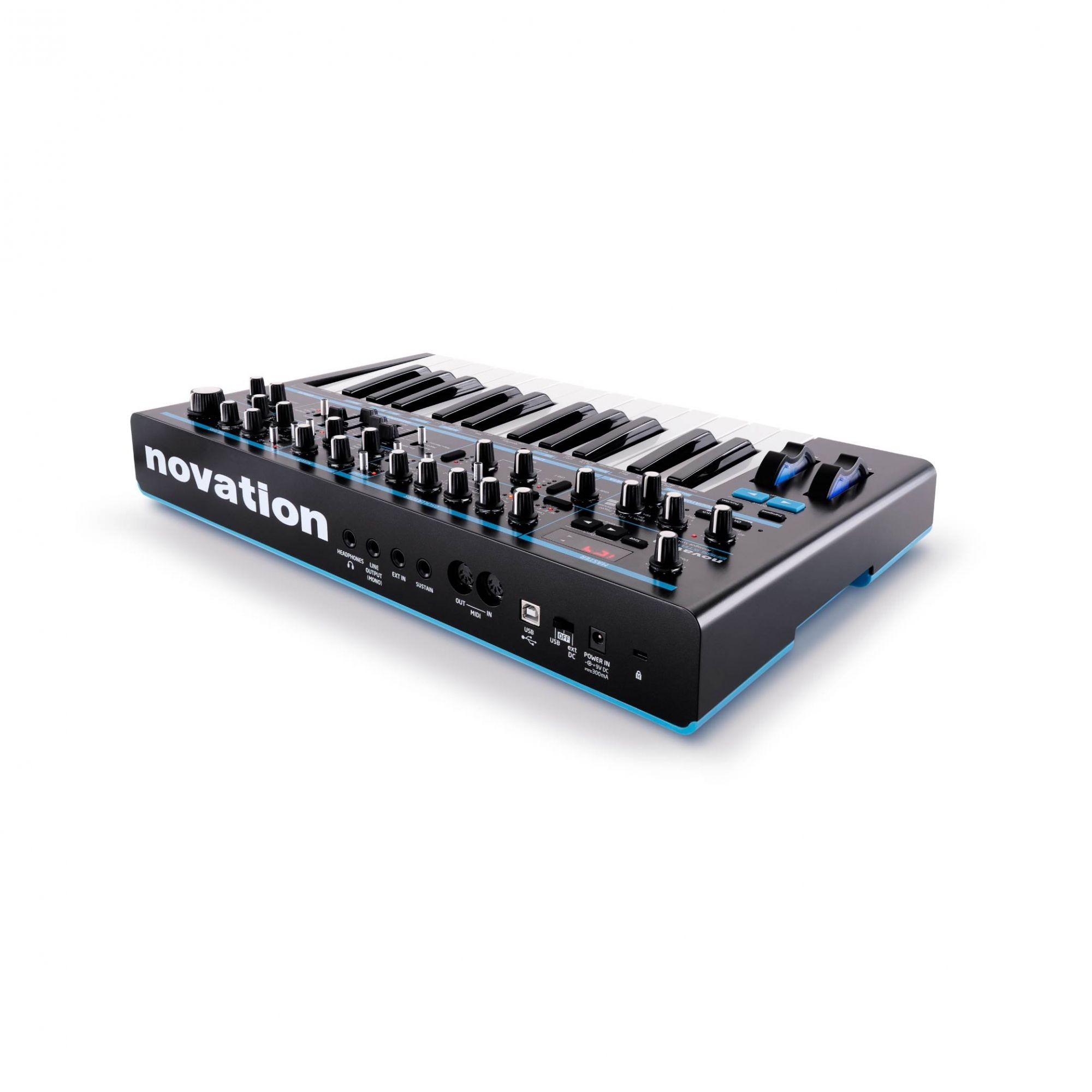 Sintetizador Analogico Mono-Synth -BASS STATION II -NOVATION