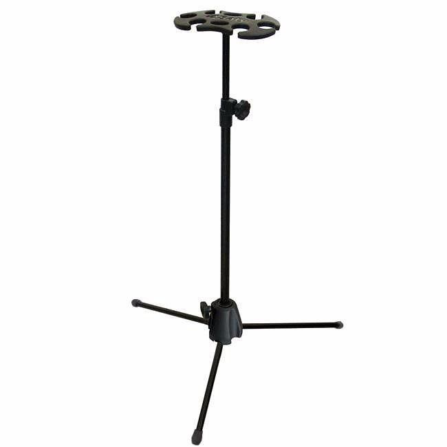 Suporte Para 6 Microfones Saty PM06