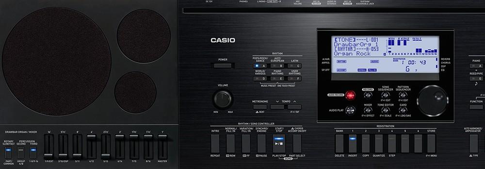 Teclado Arranjador Casio Ctk7200 Usb 61 Teclas C/ Fonte