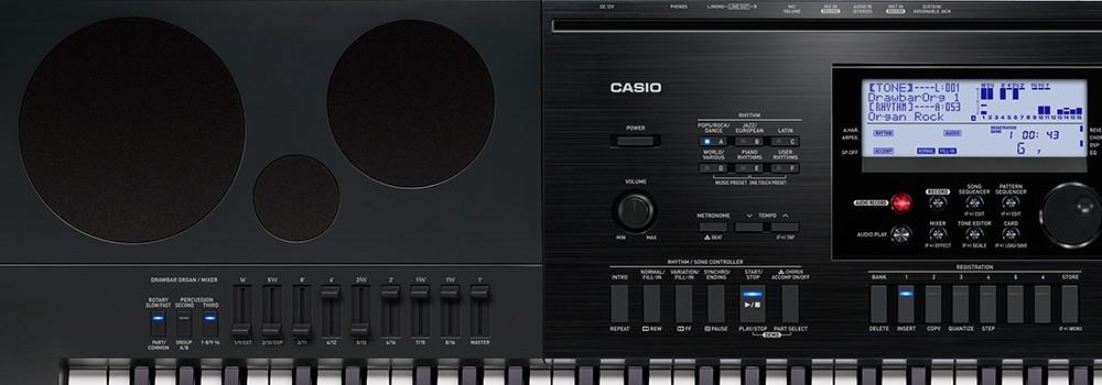 Teclado Arranjador Casio Wk7600 76 Teclas C/ Fonte