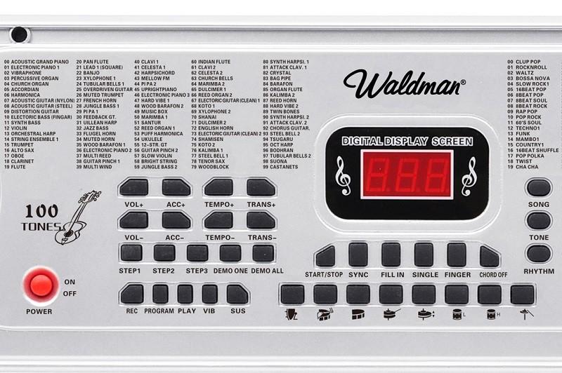 Teclado Musical Waldman Studentkeys 61 Teclas Stk-61 C/ Fonte