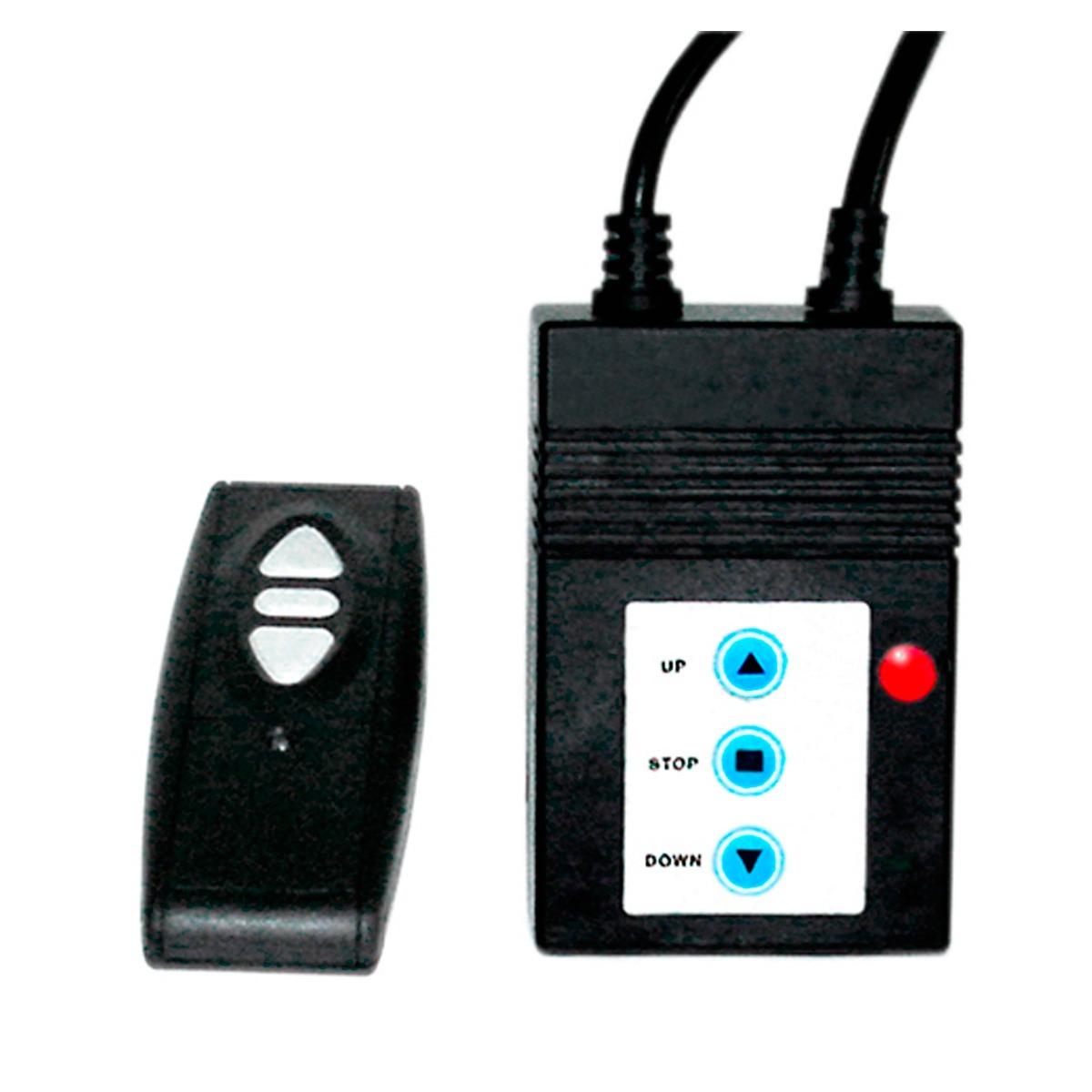 Tela Projeção 120 Polegadas Elétrica Com Controle Remoto