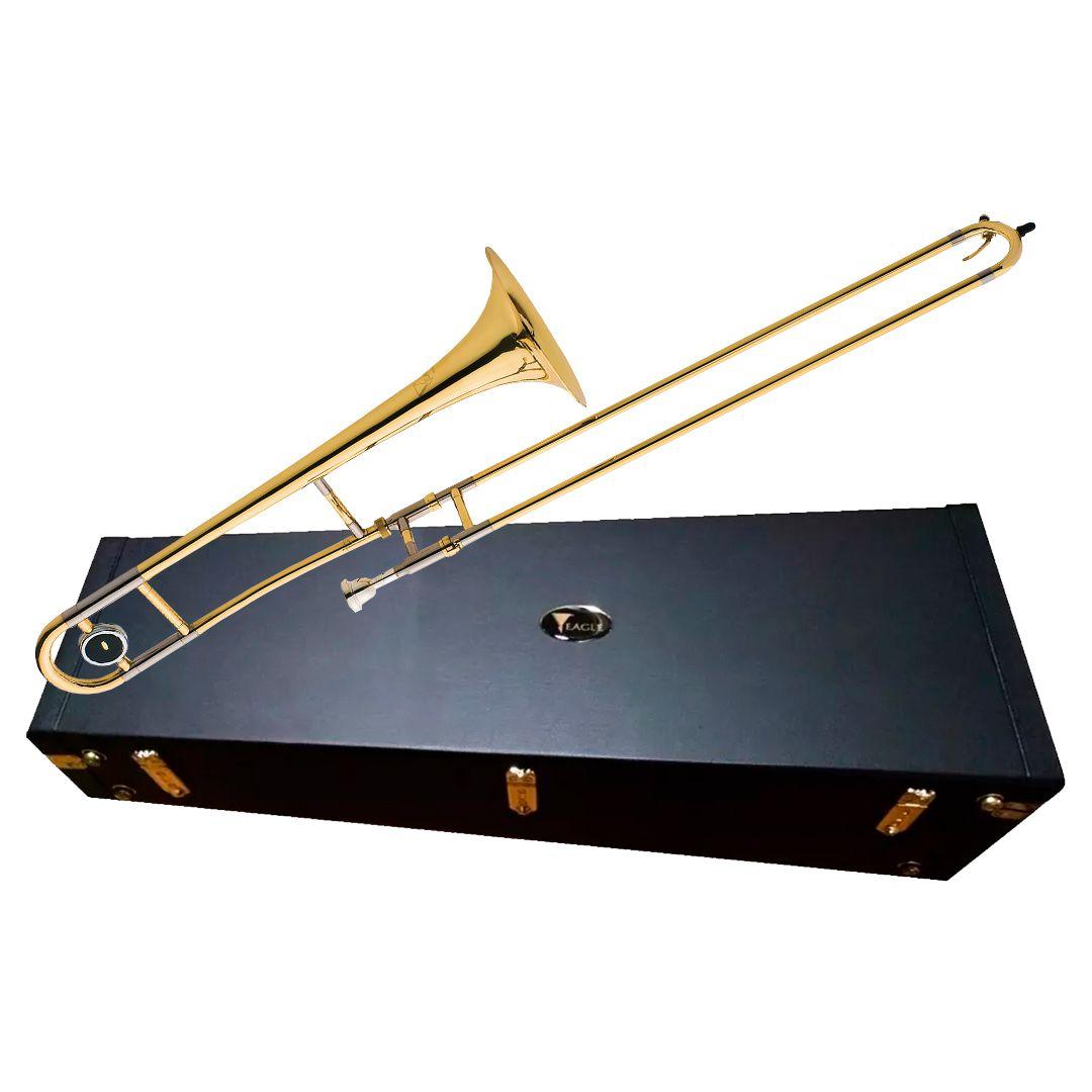 Trombone de Vara Eagle TV600 Laqueado em Sib (Bb) - Ponto do