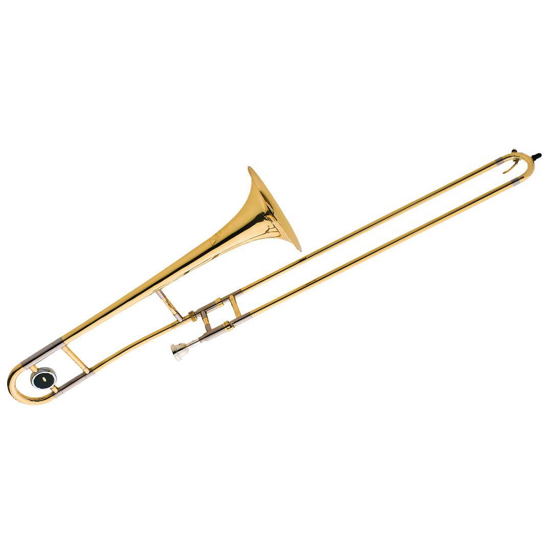 Trombone de Vara Eagle TV600 Laqueado em Sib (Bb)