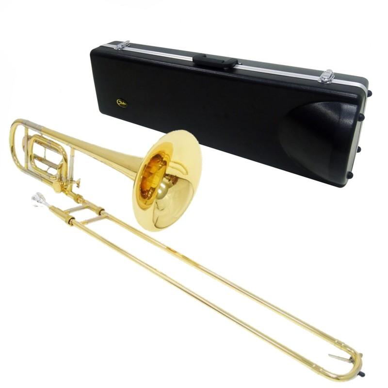 Trombone de Vara Shelter Tjs6423l2 Laqueado em Sib ( Bb/f )