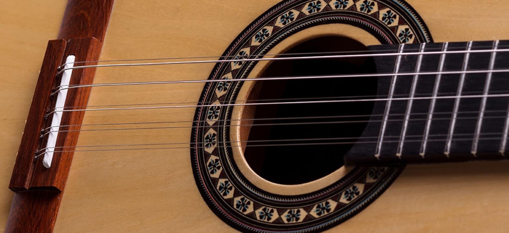 Viola Caipira Acústica Rozini Rv155 Aço Natural Brilhante - Outlet Premium