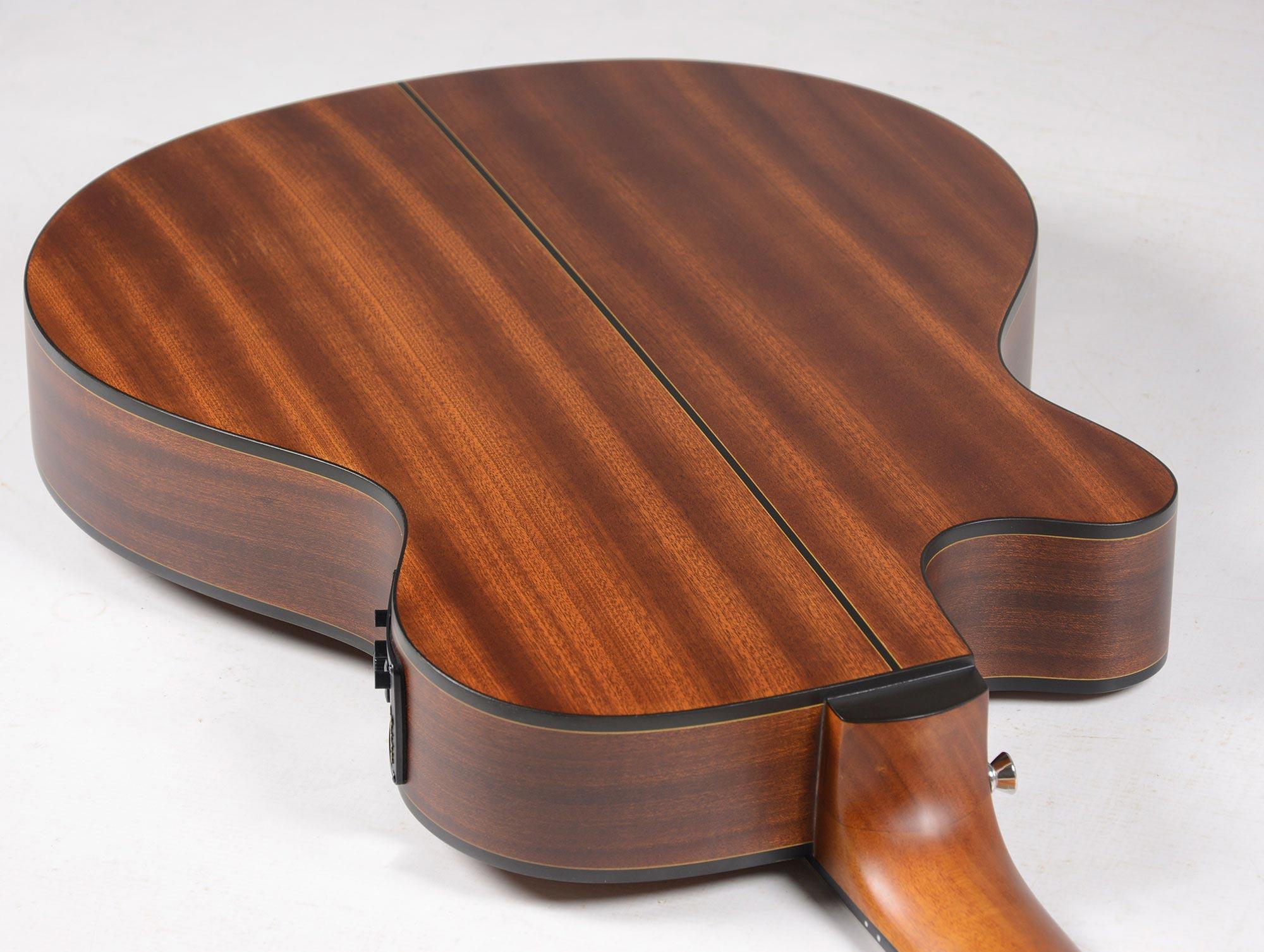 Violão Artístico Super Flat Nylon Strinberg SL200C Mahogany Fosco