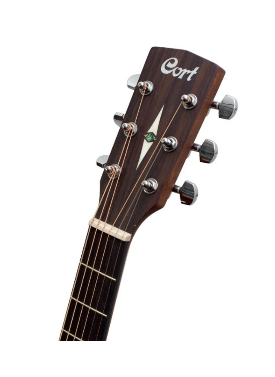 Violão Cort Mr500e Folk Elétrico Aço Vintage Burst LVBS