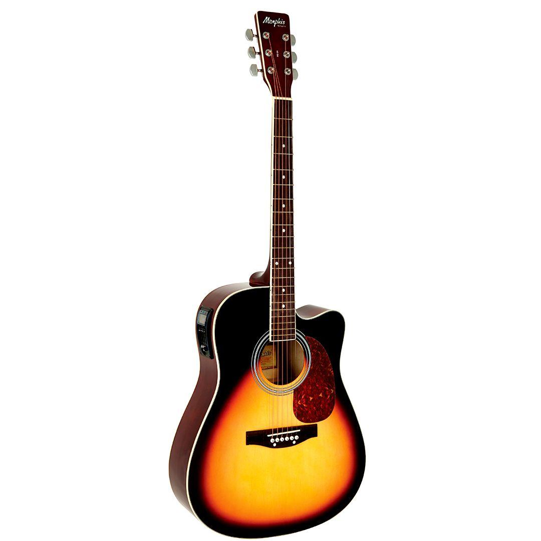 Violão Elétrico Aço Folk Tagima Memphis MD18 Sunburst