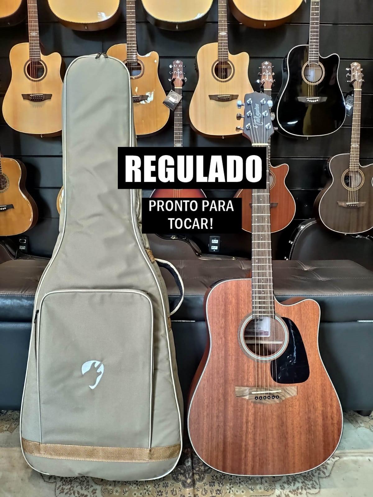 Violão Elétrico Aço Folk Takamine Gd11 + Bag Premium + Correia