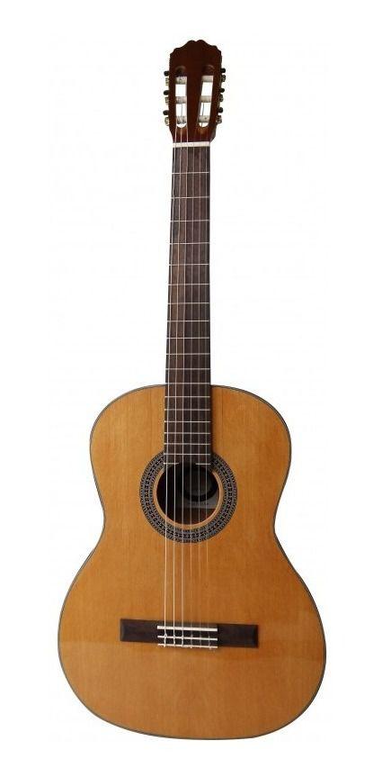 Violão Elétrico Nylon Gonzalez Luthier Sublime Classico Natural Regulado