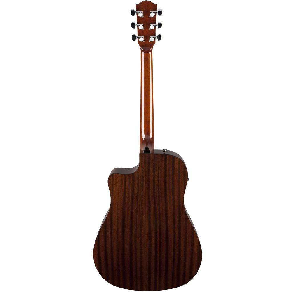 Violão Eletrico Folk Fender Cd60 CE Captação Fishman C/ Case