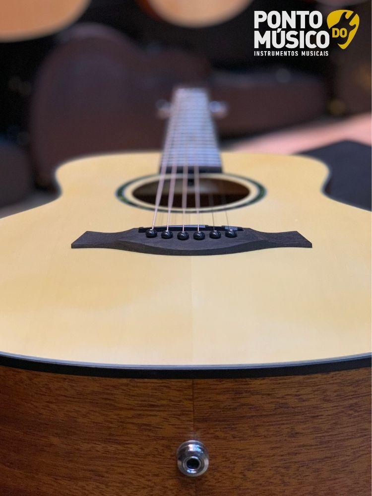 Violão Eletrico Aço Gonzalez Luthier GZ Mini Natural - Regulado