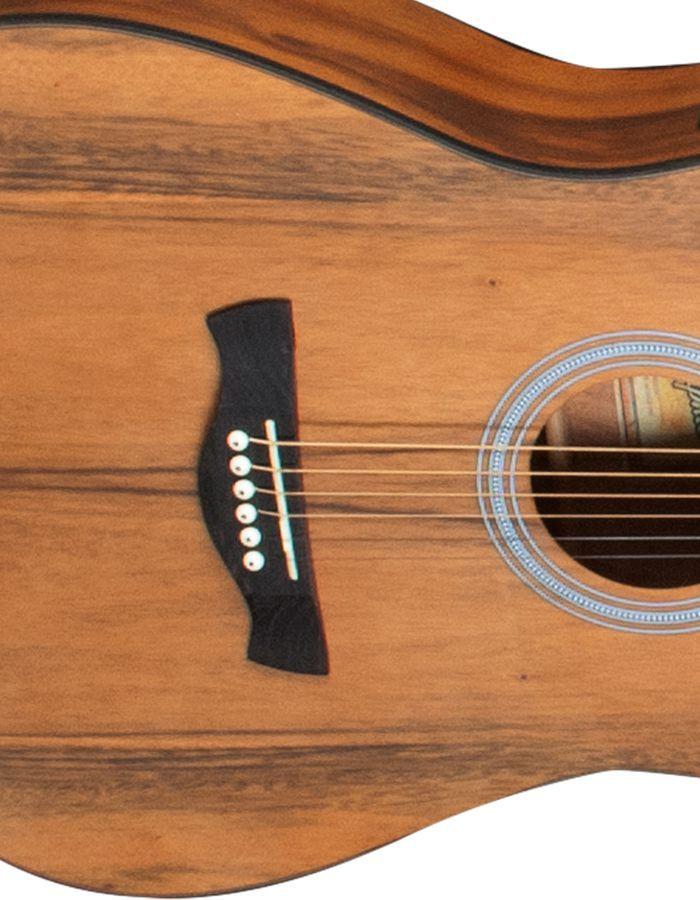 Violão Folk Aço Acústico Memphis By Tagima MD25 Natural Com Bag