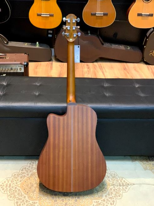 Violão Elétrico Folk Aço Strinberg SD200C Honey Burst + Bag Premium