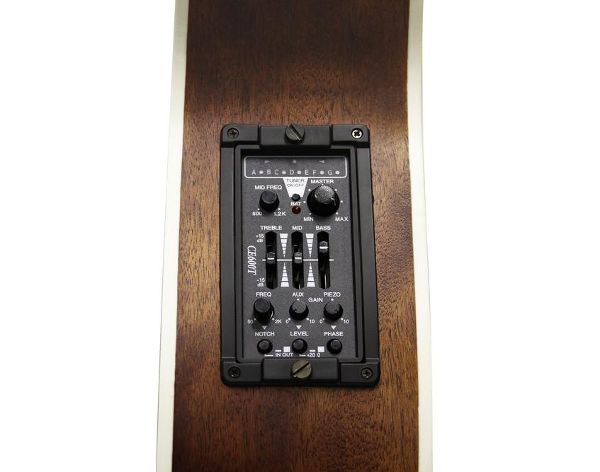 Violão Folk Eletrico Cort Af540 Ce Aço C/ Case