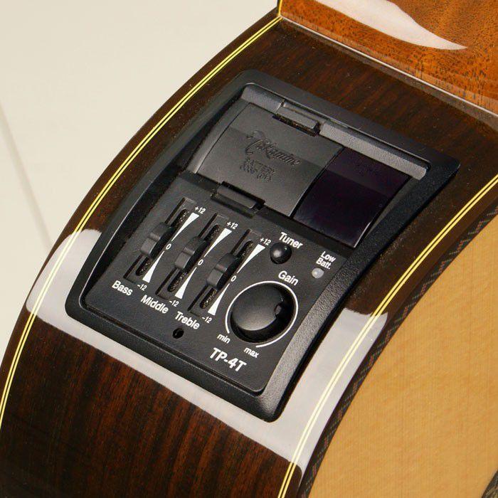 Violão Folk Takamine Gd11 Mce Elétrico Aço Com Afinador + Bag Luxo + Correia