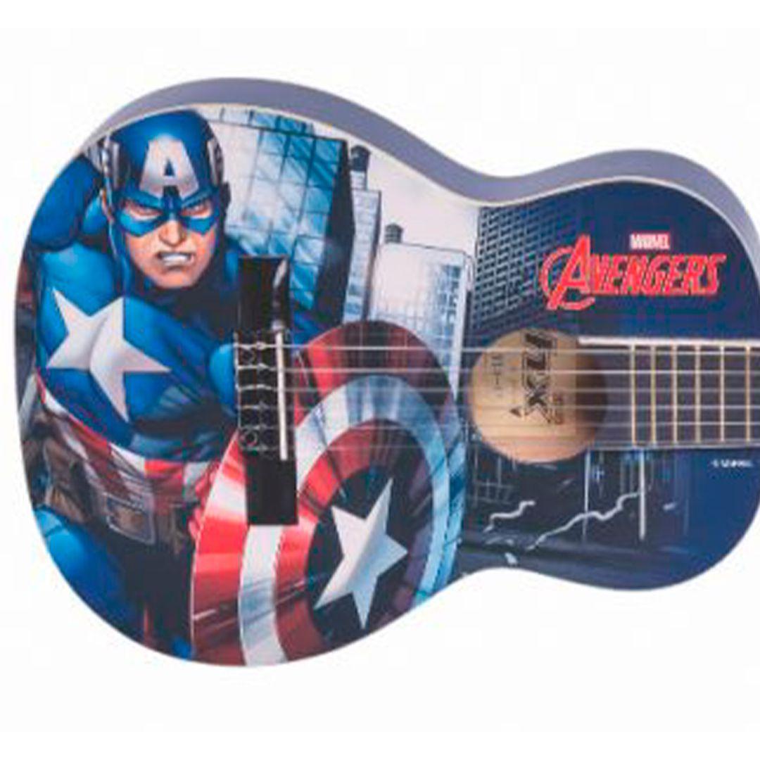 Violao Infantil Nylon PHX Marvel Capitão América