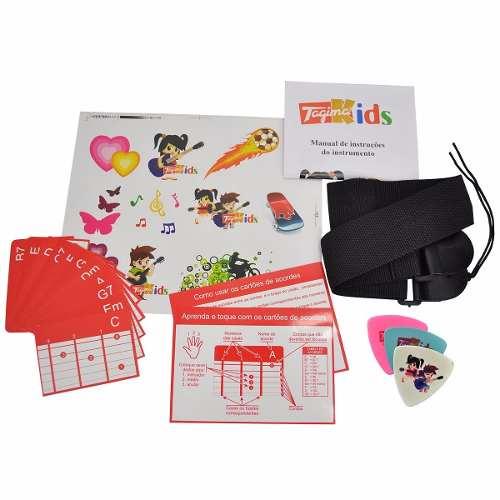 Violao Infantil Tagima Kids V2 Preto Nylon Com Bag e Afinador