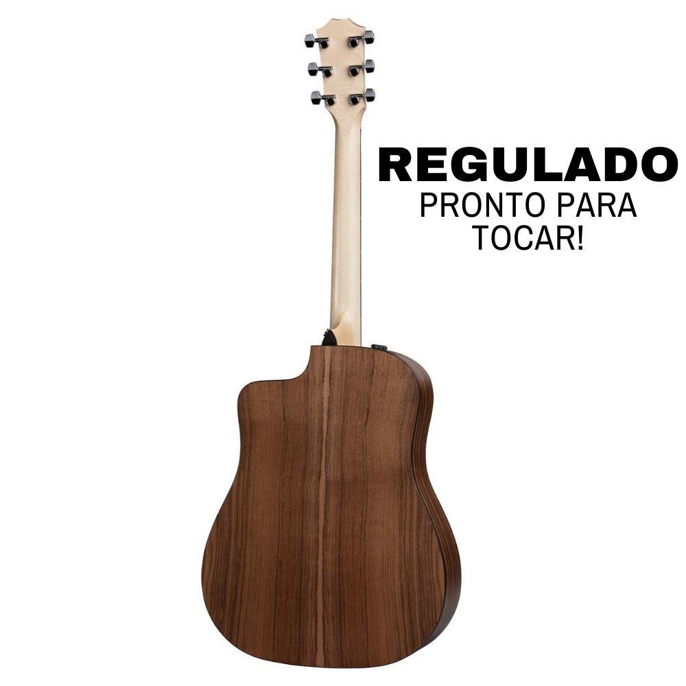 Violão Elétrico Folk Taylor 110Ce Walnut C/ Bag - Regulado