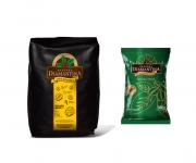 1 café torrado em grãos gourmet (1Kg) + 1 café torrado e moído tradicional (500g)