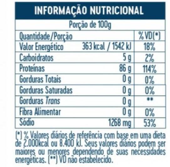 Albumina 100% pura sabor natural 1Kg